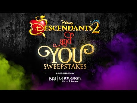 Descendants 2 and You Sweepstakes | Character Makeover with Sofia & Cameron!