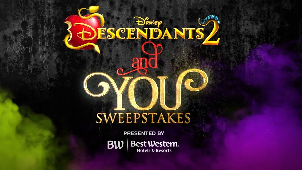 Descendants 2 And You Sweepstakes   Character Makeover With Sofia U0026 Cameron!