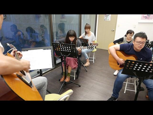 樂吉他學員限定免費體驗課程-周杰倫說好不哭cover