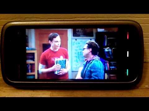 Nokia 5228 воспроизведение видео