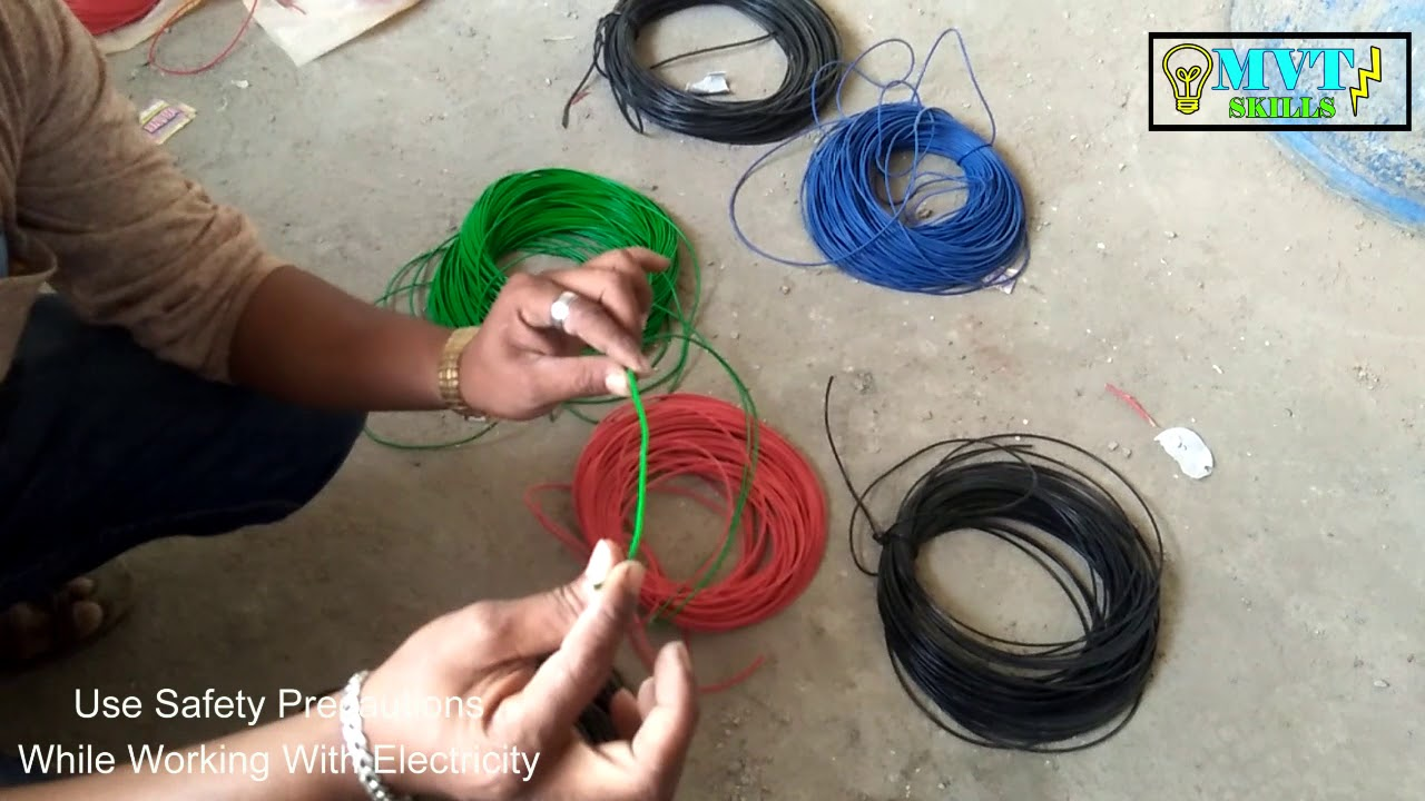 Basic House Wires Information Color Coding How To Do Home Wiring Mvt Skills