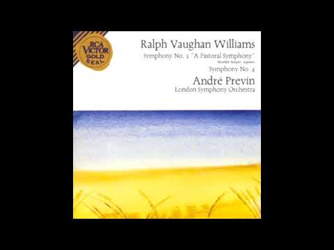 VAUGHAN WILLIAMS: Symphony No. 4 in F minor / Previn·London Symphony Orchestra