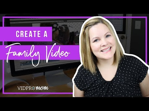 Premiere Elements 2018 – How To Create A Great Family Video