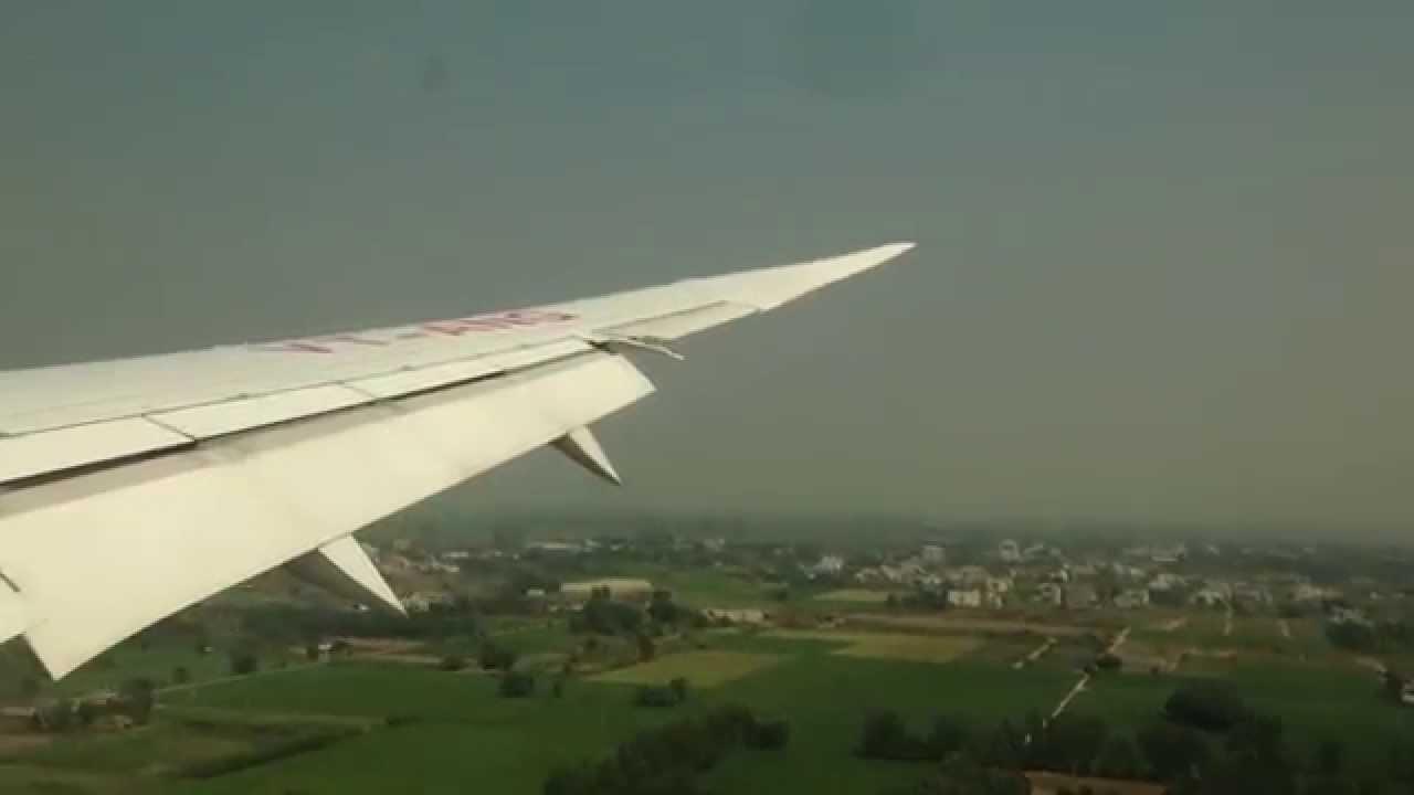 Landing At Amritsar Airport Youtube