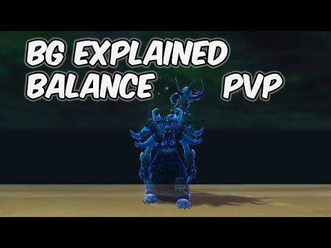 BG Explained - 8.0.1 Balance Druid PvP - WoW BFA