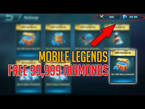 Mobile Legends Hack - Get Free 99999diamonds For Android/ios (2017)
