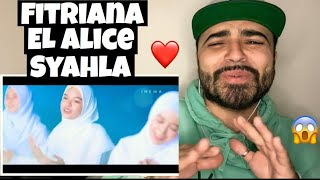 Download lagu Reacting to ASSALAMUALAIKA Versi tiga bahasa (Fitriana , EL Alice , Syahla cover)