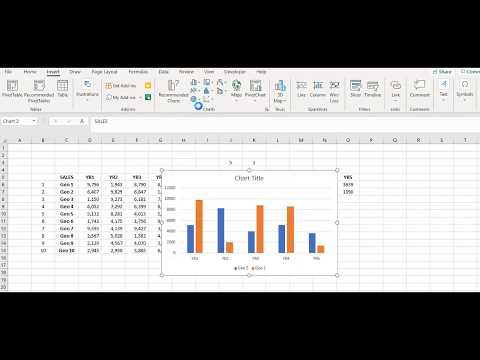 Make an Interactive Chart in Excel