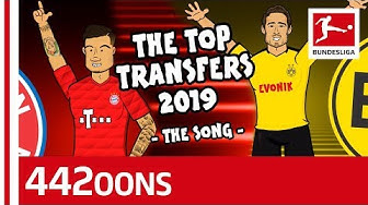 Bundesliga Transfer Song - Powered By 442oons