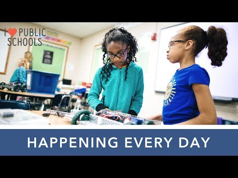 Happening Every Day:  Wilson Focus School