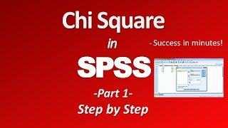 Chi Square Test in SPSS