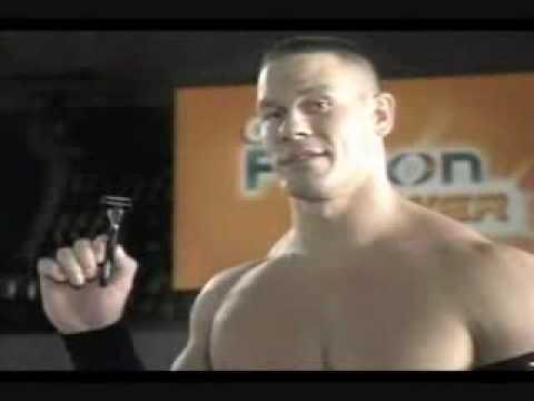 John Cena Gillette commercial - YouTube