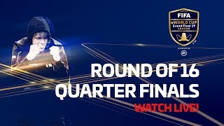 FIFA eWorld Cup 2019™ - Round of 16 & Quarter Finals - English Audio
