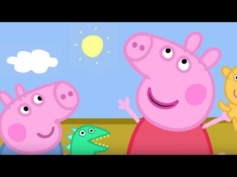 Peppa Pig Episodes - Up, Up and Away! - Cartoons for Children