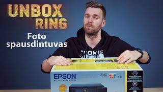 Foto spausdintuvas   EPSON L7160   Unbox Ring apžvalga
