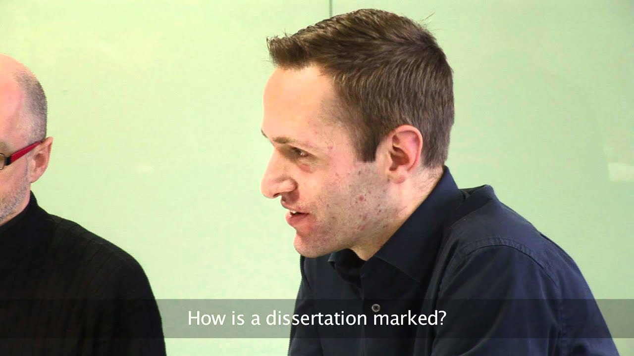Dissertation question?