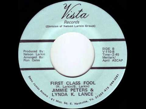 "Jimmie Peters & Lynda K. Lance ""First Class Fool"""