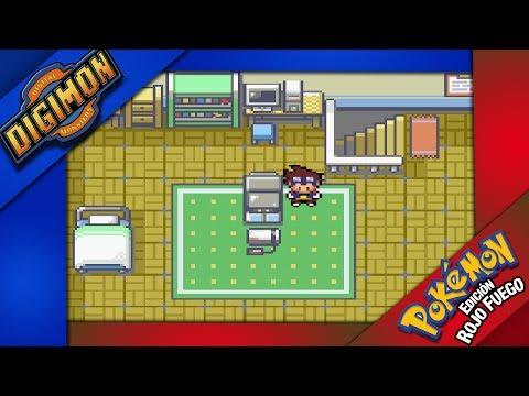 JUEGO ALUCINANTE | Pokemon Rojo Fuego Y Digimon FUSION