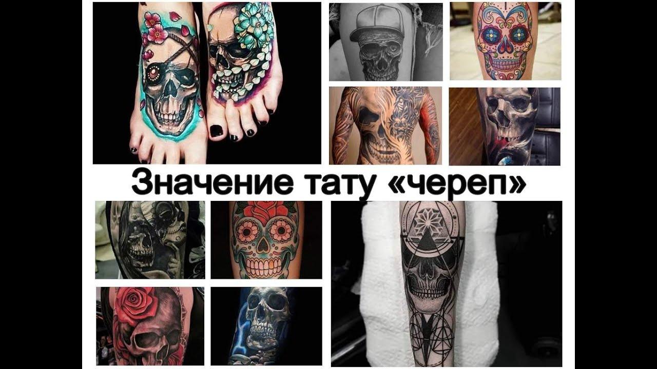 татуировка череп что означает