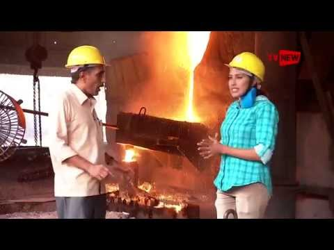 Introducing Steel Production Unit of Paragon Steels Pvt Ltd - Make In Kerala | Tv New