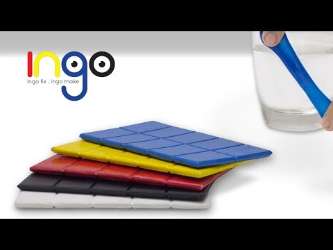 Ingo : A moldable plastic with hot water