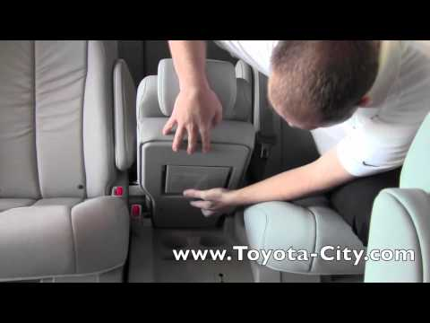 2011 Toyota Sienna Middle Seat How To By Toyota City