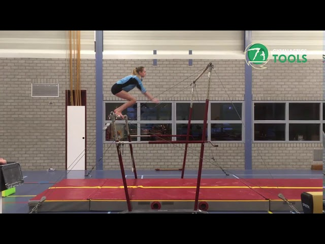 Squad On Jump To High Bar Drills & Excersises | Uneven Bars | Gymnastics