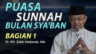 Gambar cover Puasa Sunnah Bulan Sya'ban bagian 1 - Ustadz Zaki Mubarok