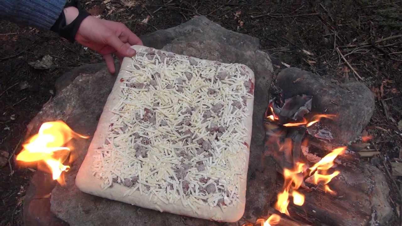 Pizza på bålet   Turmat   UTEMAGASINET.NO