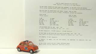 Learn Italian in an easy way part 2  - Italian language free tutorial