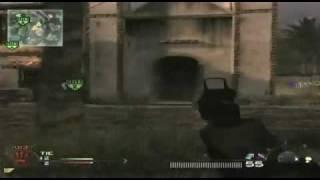 Call of Duty Modern Warfare 2 - Insane Throwing Knife Kill