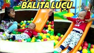 Balita Lucu Main di Kolam Bola | Fun Indoor Playground for Kids