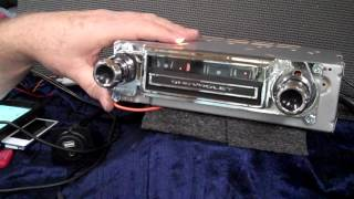 1964 Chevy C10 original AM radio