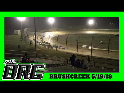 Brushcreek Motorsports Complex | 5/19/18 | Ohio Valley Roofers Legends Car Series