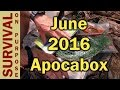 Apocabox June 2016 Unboxing Review