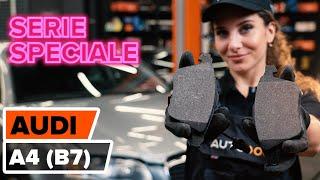 Come sostituire pastiglie freno anteriori su AUDI A4 B7 Sedan [VIDEO TUTORIAL DI AUTODOC]