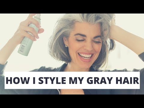 how-i-style-my-gray-hair-|-chic-bob-hair-style-|-nikol-johnson