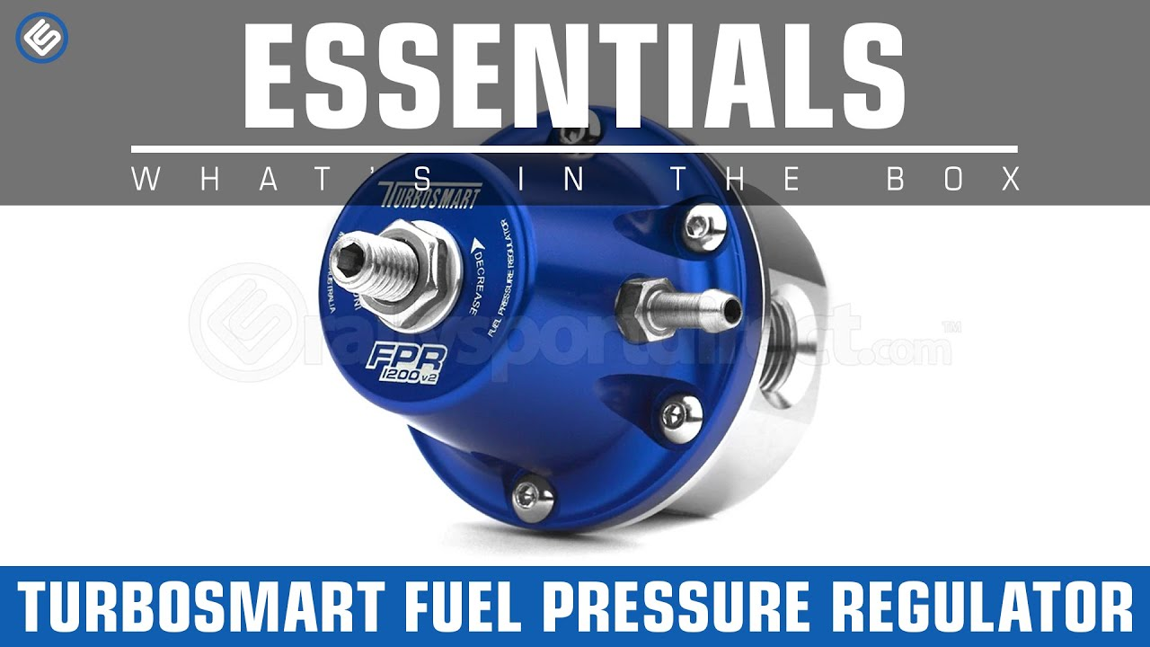 Turbosmart fuel pressure regulator whats in the box for What is fpr rating