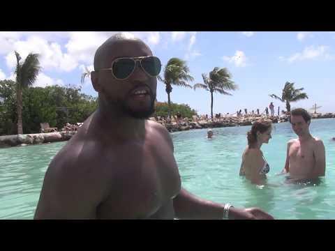 Day 2 Aruba Vacation| Private Island| Boat ride| ATV Island tour| Natural Pool.