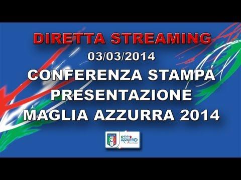Conferenza stampa presentazione Maglia Azzurra 2014
