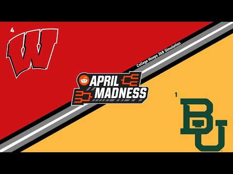 R/CollegeBasketball Virtual Tournament | Sweet Sixteen | (4) Wisconsin Vs (1) Baylor