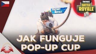 Jak Funguje Pop-Up Cup w/ AdamkoSS10 (Nejlepší Český PS4 Hráč) - Fortnite Battle Royale CZ