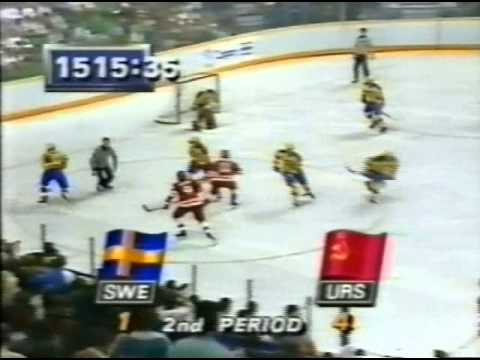 ОИ 1988 СССР-Швеция (финальный раунд)