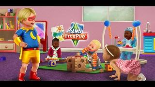 Как создать 3 ребёнка  в Sims FreePlay