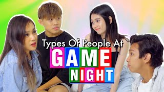 Types of People At Game Night