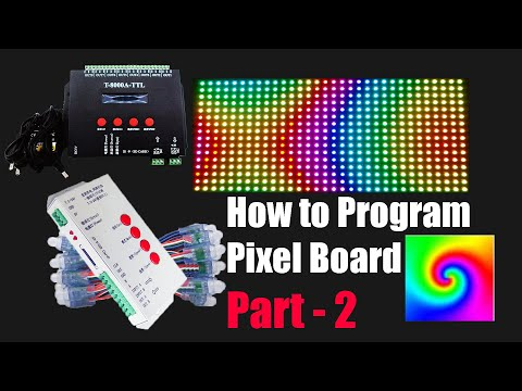 How to Program Pixel LED Board | Part 2 - Lay-outing and effects