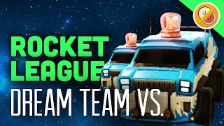 The Dream Team vs Math Class - Rocket League Highlights #1 (Funny Moments)