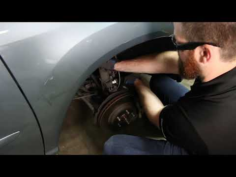 How to Replace Struts on a Lexus RX 350