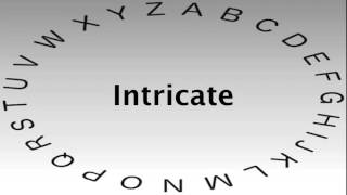 SAT Vocabulary Words and Definitions — Intricate