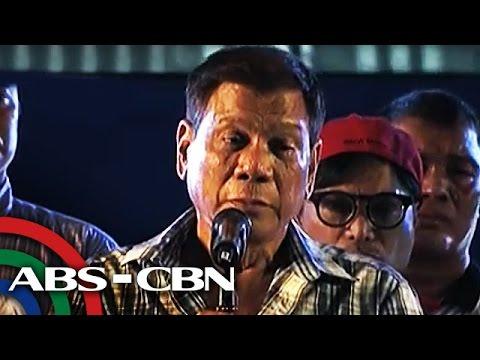 TV Patrol: Duterte, binalaan ang 3 heneral sa Camp Crame